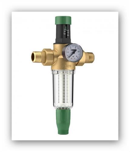 "Regulátor tlaku vody s filtrem, redukční ventil HERZ 1/2"" (DN15,PN16) 2301101"