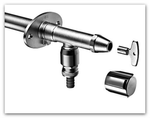 Nezámrzný ventil SCHELL Polar II 039950399