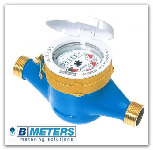 """Domovní vodoměr Bmeters 1"""" (DN25) pro studenou vodu GMDM-I/SV 1"""""""