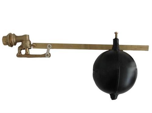 """Mosazný napouštěcí plovákový ventil 1"""" boční"""