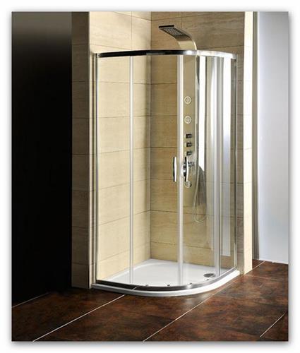 Sprchový kout Gelco 90x90 sklo čiré (AG4290) s vaničkou z litého mramoru
