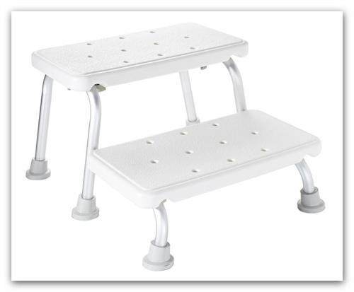 Dětská dvoustupňová stolička RIDDER 44599 - stolička k umyvadlu