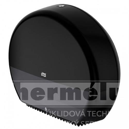 554008 - Zásobník na Jumbo toaletní papír T-Box TORK černý T1 NEW