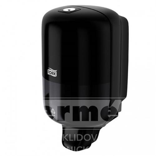 Plastový dávkovač na mýdlo S-BOX MINI TORK S2 černý 475ml