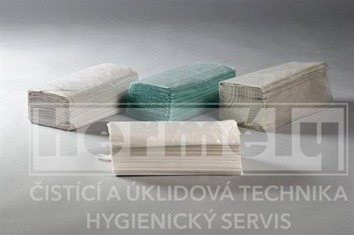 Papírové ručníky 5000 ks - zelené
