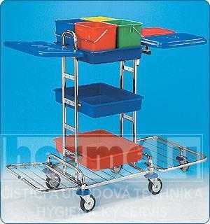 Servisní vozík KOMBI MIDI III P 130 x 61 x 110 cm