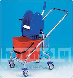 Úklidový vozík REKORD 1 x 17 l