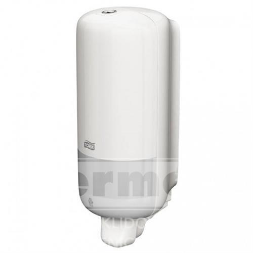 Plastový dávkovač na tekuté mýdlo S-Box TORK bílý S1 NEW