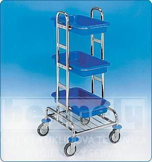 Servisní vozík KOMBI MINI I 50 x 25 x 107 cm