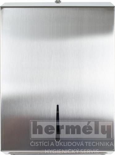 Nerezový zásobník na skládané papírové ručníky ZZ SOFT