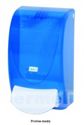 Plastový dávkovač mýdla PROLINE 1L modrý