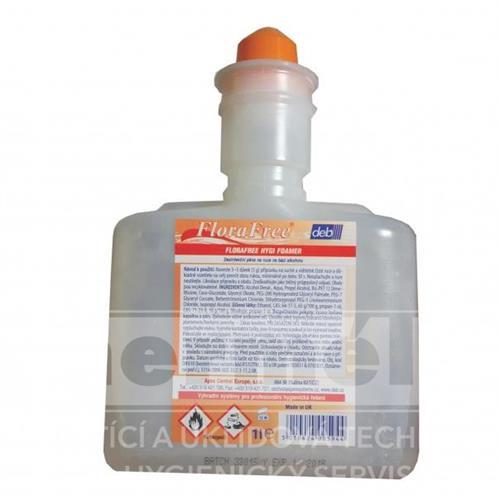 FLORAFREE HYGI FOAMER - pěnové dezinfekční mýdlo 1L