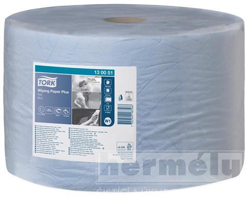 Průmyslová papírová utěrka Tork Advanced 420 velká role modrá