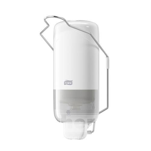 Plastový dávkovač na mýdlo S-BOX TORK S PÁKOU S1 bílý 1L