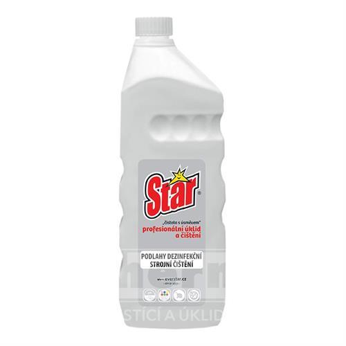 STAR na podlahy - dezinfekční strojní čištění 1l