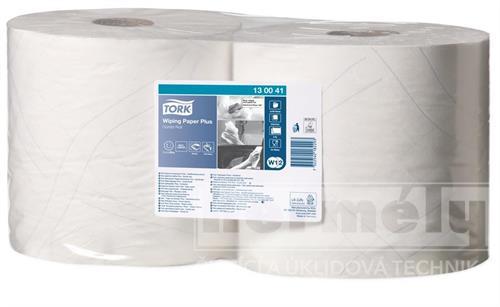 Průmyslová papírová utěrka Tork Advanced 420 malá role bílá