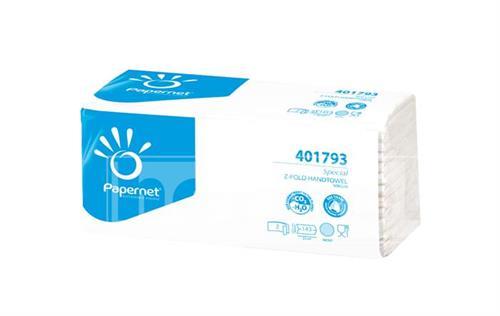 PAPERNET Z-FOLD papírové ručníky - bílé