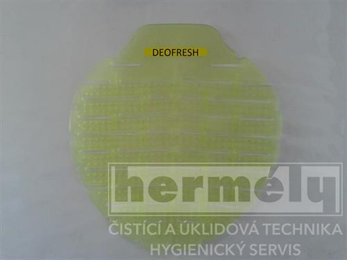 Vonné sítko do pisoárů Deofresh žluté - citron