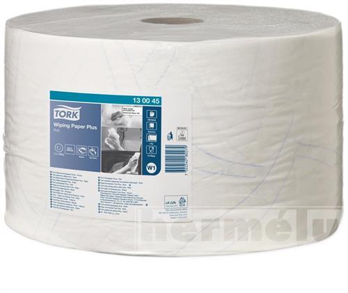Průmyslová papírová utěrka Tork Advanced 420 velká role šířky 24cm bílá