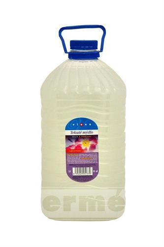 Tekuté mýdlo na dolévání - med a mléko 5L