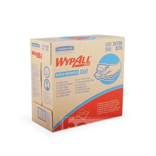 Utěrky WYPALL X60, POP-UP Box, 426 x 231 mm