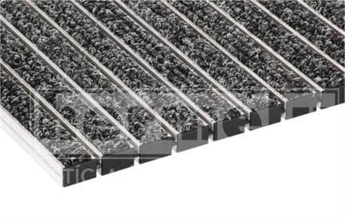 OSLO hliníková rohož na hrubé nečistoty 24 mm