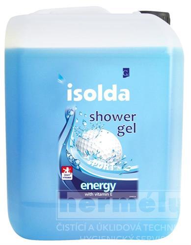 Kopie - Sprchový krém ISOLDA černá třešeň s mandlovým mlékem 5l