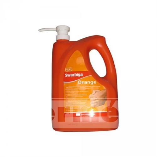 SWARFEGA ORANGE - mycí pasta s pumpičkou 4L