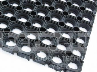 Rohož gumová HONEYCOMB 80x120x2,3 cm