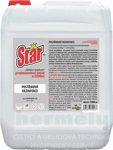 STAR postřiková dezinfekce 5l
