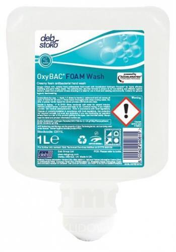Deb OxyBac Foam Wash - neparfémované pěnové mýdlo 1l