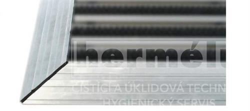 Hliníkový náběh rohoží 22 mm