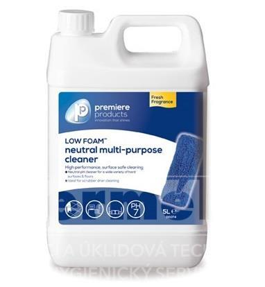 Čistič a odmašťovač podlah Low Foam Premium 5L