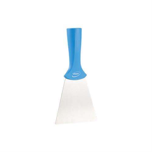 Nerezová špachtle, rukojeť se závitem, 100 mm