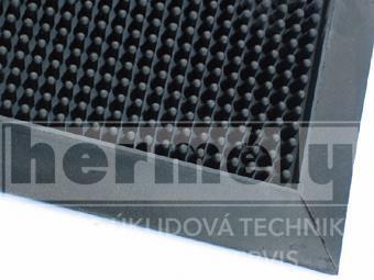 Rohož gumová FINGERTIP 80x100x1,6cm