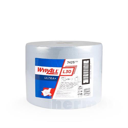Papírové utěrky WYPALL L30 ULTRA+ 380 x 235 mm