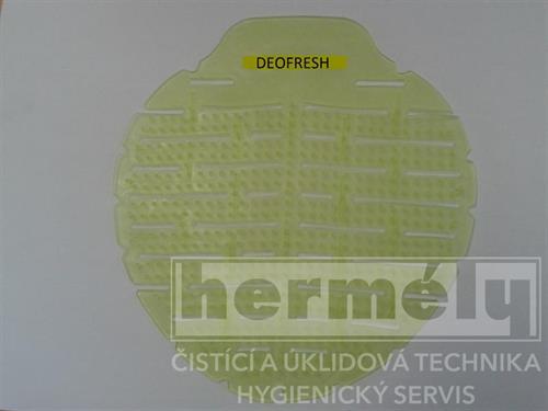 Vonné sítko do pisoárů Deofresh zelené - meloun