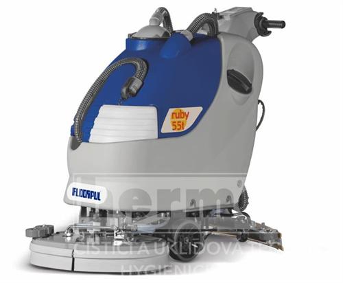 Podlahový mycí stroj RUBY 55 BT - bateriový