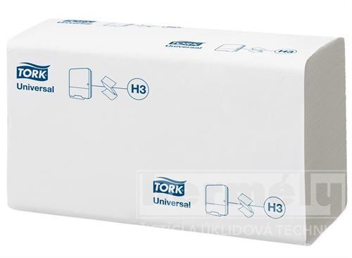 ZZ TORK UNIVERSAL TAD papírové ručníky skládané - bílé