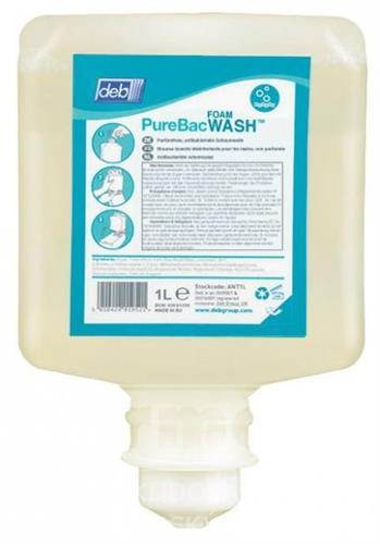 DEB PUREBAC FOAM WASH - pěnové mýdlo 6X1L