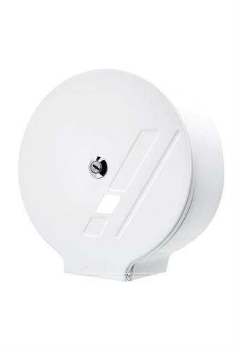 Zásobník na toaletní papír JUMBO G10 - bílý s prolisem
