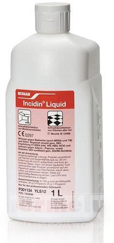 INCIDIN LIQUID 12X1L