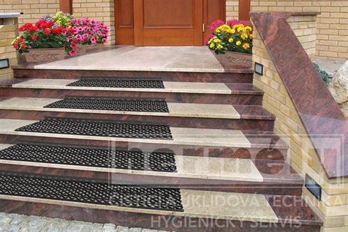 ARABESKA protiskluzová rohož na schody
