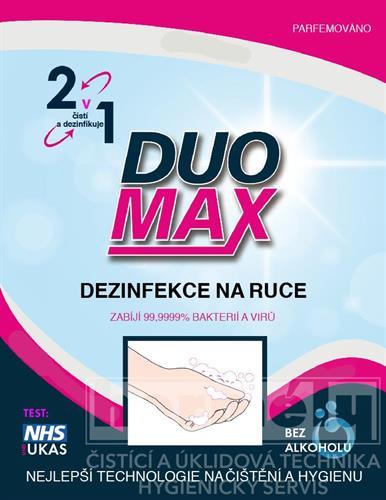 DUOMAX dezinfekční pěna na ruce 5l