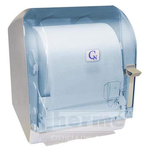 zásobník papírových ručníků v roli caren s podavačem - transparentní