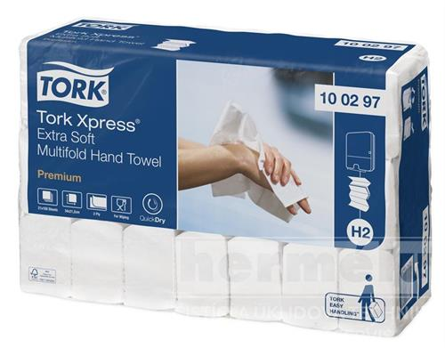 INTERFOLD TORK PREMIUM EXTRA SOFT TAD papírové ručníky skládané - bílé