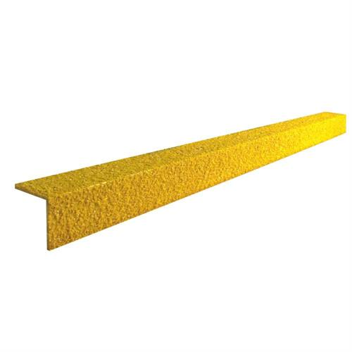 Protiskluzový profil okrajový STAIR NOSING žlutý 1m x 55mm x 55mm