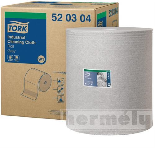 Netkaná textílie Tork Premium 520 velká role šedá