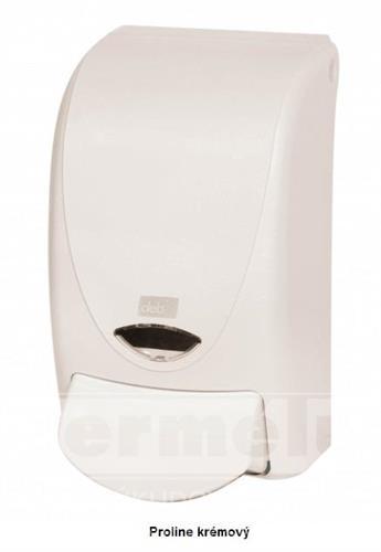 Plastový dávkovač mýdla PROLINE 1L krémový
