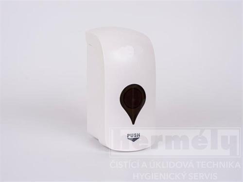 Dávkovač tekutého mýdla, gelu a dezinfekce 500ml SOFT - dolévací